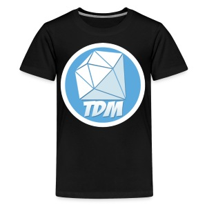 Dan TDM Logo Diamond - Kids' Premium T-Shirt