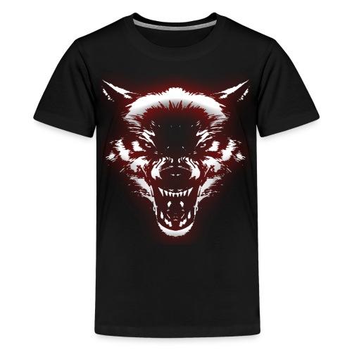 Angry Wolf - Kids' Premium T-Shirt