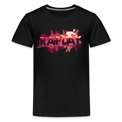 Raplay Paint #VemPraRaplay - Kids' Premium T-Shirt