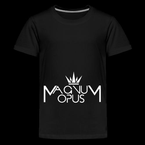 MOCC Magnum Opus WHT - Kids' Premium T-Shirt