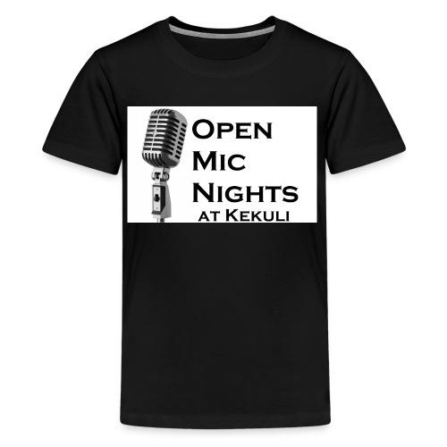 Open Mic Nights T-Shirts - Kids' Premium T-Shirt