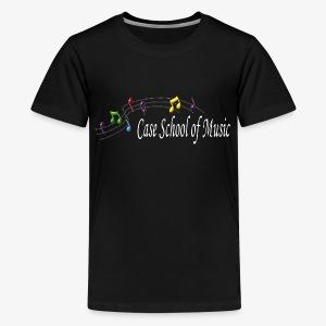 Case School of Music Logo - Kids' Premium T-Shirt