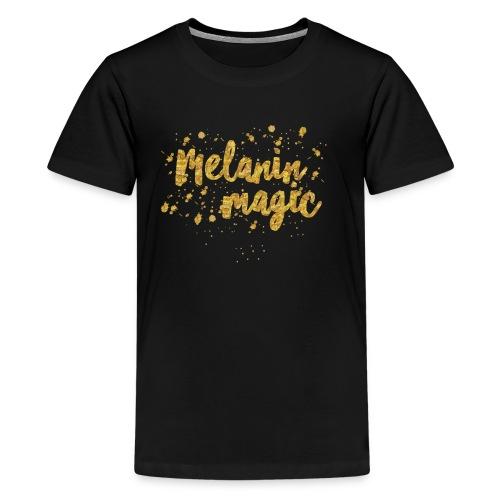 Melanin Magic by A.T.Yancey - Kids' Premium T-Shirt