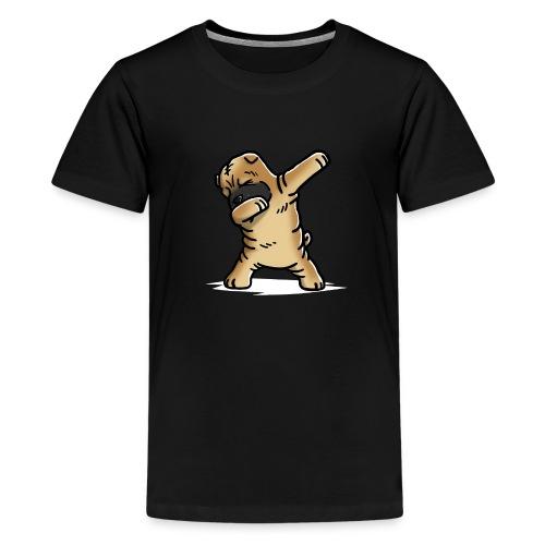 Funny Shar Pei Dabbing Dog Dab Dance - Kids' Premium T-Shirt