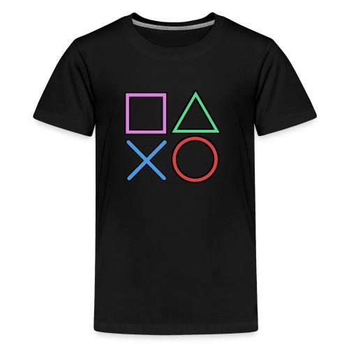 Gamer Buttons - Kids' Premium T-Shirt