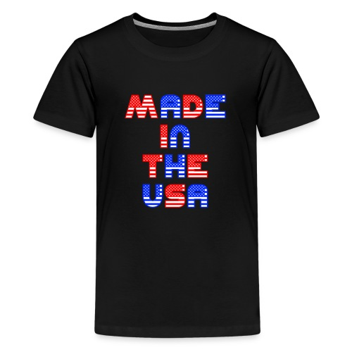 Made In the USA Patriotic United States - Kids' Premium T-Shirt