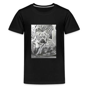 Puppy Eyes - Kids' Premium T-Shirt