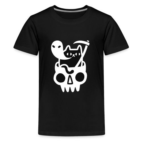 Black Doom Cat - Kids' Premium T-Shirt