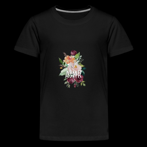 J ASMR Floral - Kids' Premium T-Shirt