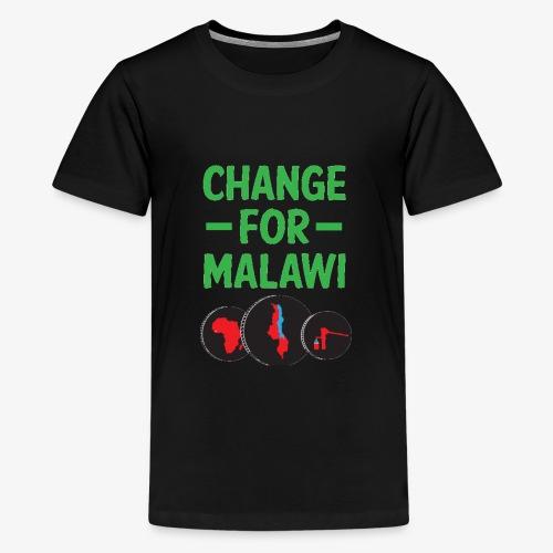 Change for Malawi Logo Shirt - Kids' Premium T-Shirt