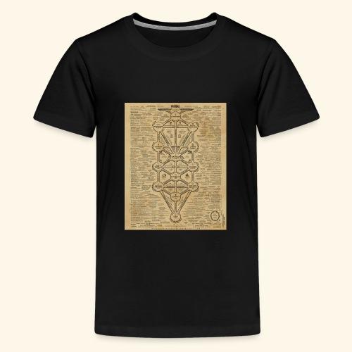cult of baal map - Kids' Premium T-Shirt