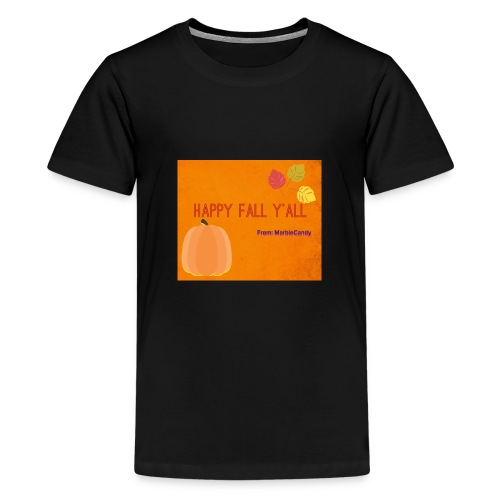 Happy Fall Y'all - Kids' Premium T-Shirt
