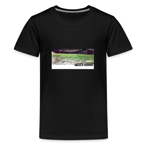 Think green - Kids' Premium T-Shirt
