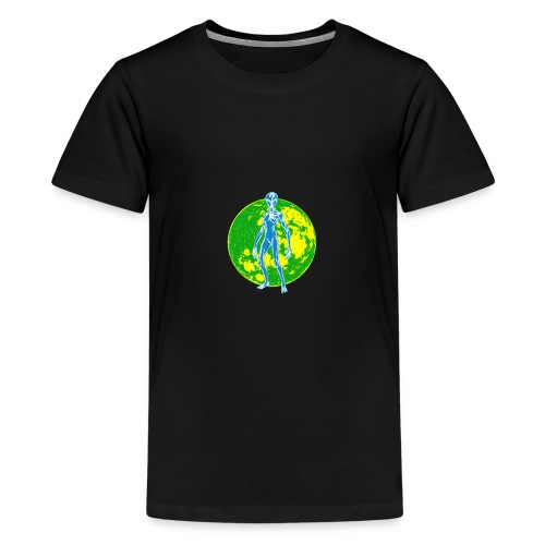 Alien Moon - Kids' Premium T-Shirt