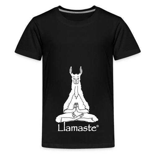 Llamaste Hoodie Logo - Kids' Premium T-Shirt