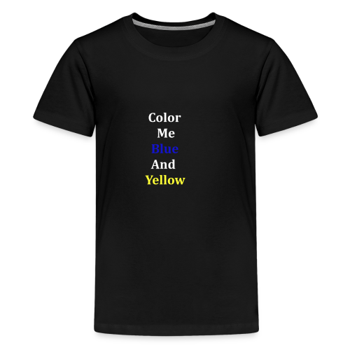 yellowandblue - Kids' Premium T-Shirt