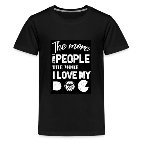 Dog owner T shirt - Kids' Premium T-Shirt