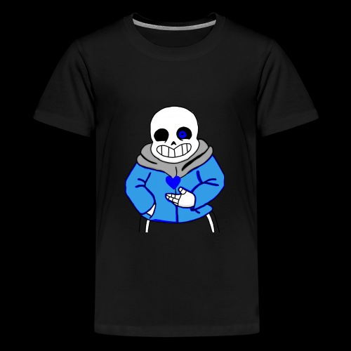"Undertale San ""ReDraw"" - Kids' Premium T-Shirt"