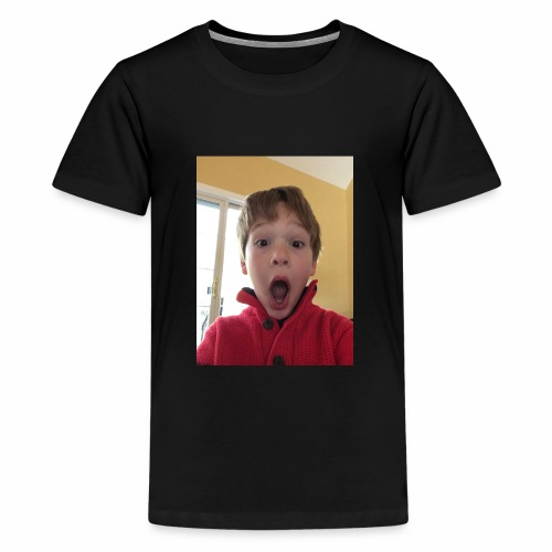Me Suprised When My Dadn Sayed I Could Post Videos - Kids' Premium T-Shirt