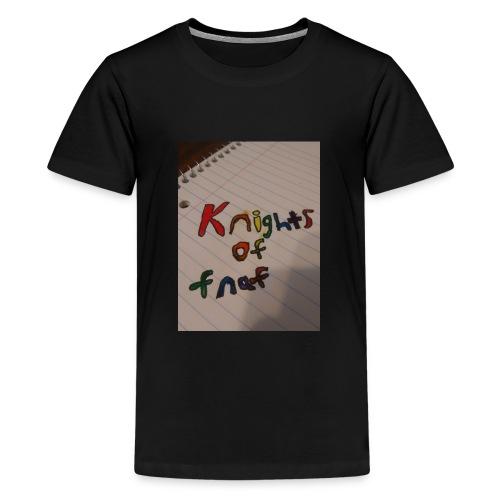 Knights of fnaf merch - Kids' Premium T-Shirt