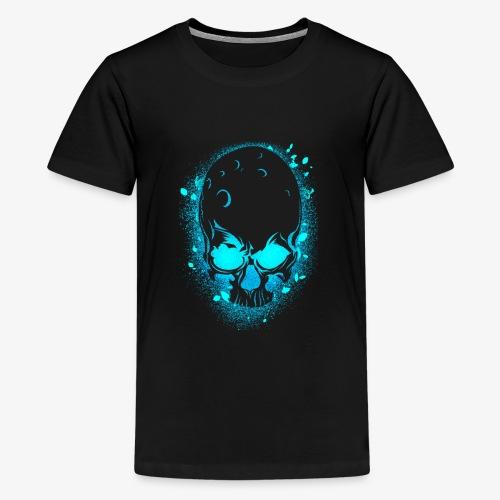 GLOW SKULL NEW - Kids' Premium T-Shirt