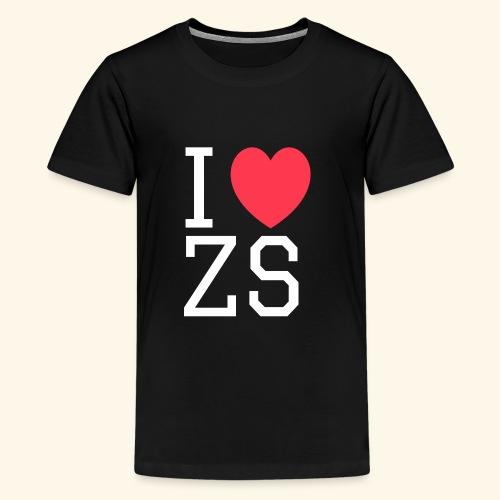 I ♥ ZS Black - Kids' Premium T-Shirt