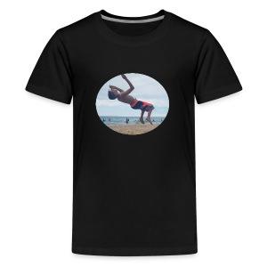 Backflip Logo - Kids' Premium T-Shirt