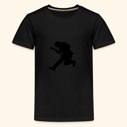 Rock God silhouette - Kids' Premium T-Shirt