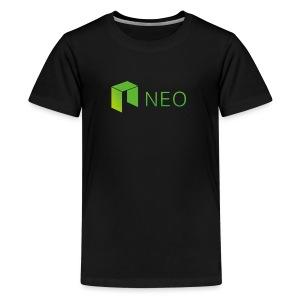 Neo Cryptocurrency logo - Kids' Premium T-Shirt