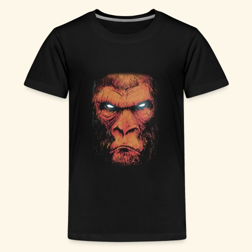 Monkey Business kahve - Kids' Premium T-Shirt