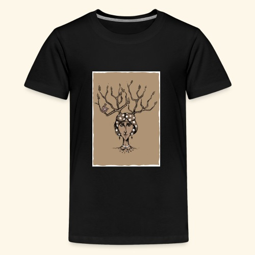 The Tree Girl - Kids' Premium T-Shirt