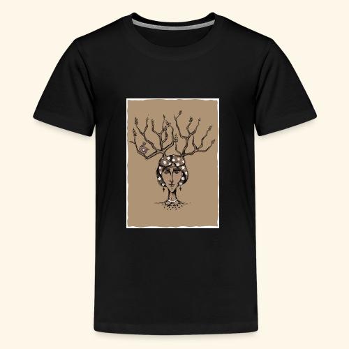 The Tree Girl - Kids' Premium T-Shirt
