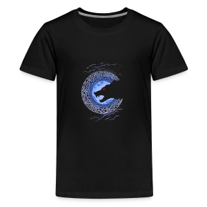 Fenrir Norse Wolf - Kids' Premium T-Shirt