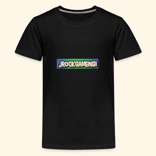 JrockGameing1 logo - Kids' Premium T-Shirt