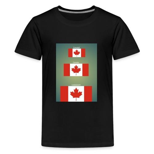 Canada? Canada CANADA!!!! - Kids' Premium T-Shirt