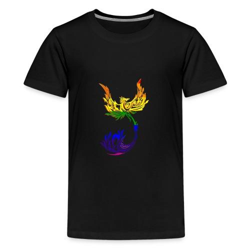Rainbow Phoenix - Kids' Premium T-Shirt