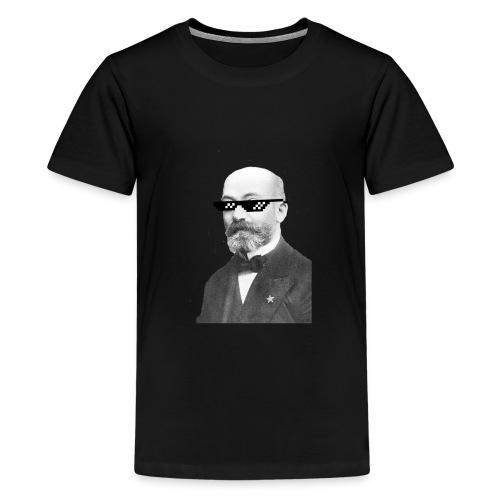 Zamenhof Shades (BW) - Kids' Premium T-Shirt