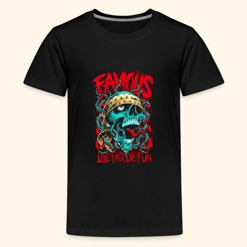 Live Fast Die Fun - Kids' Premium T-Shirt