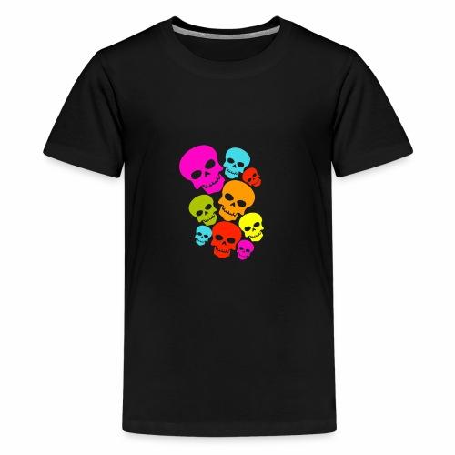 Happy Skull - Kids' Premium T-Shirt