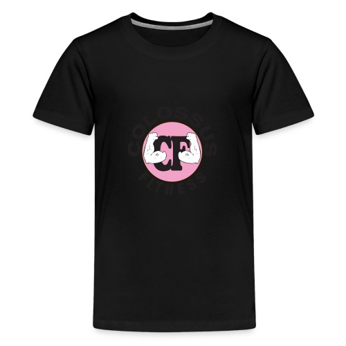 CF-logo-pink - Kids' Premium T-Shirt