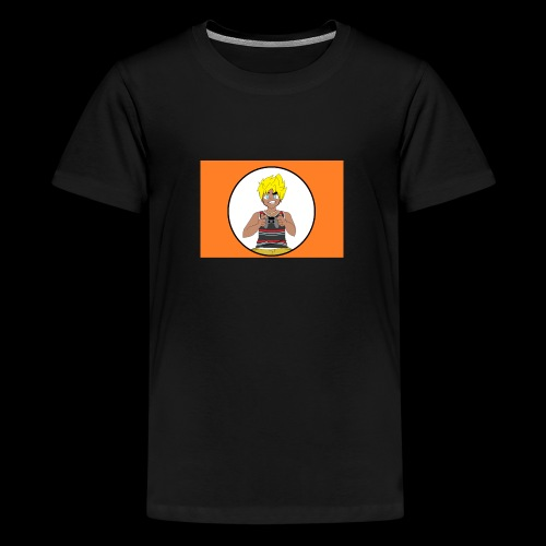 The Black Super Saiyan - Kids' Premium T-Shirt
