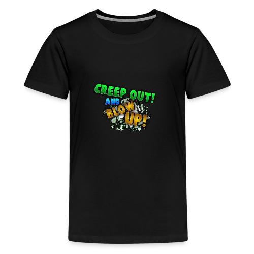 RealCreepman's Merchandise - Kids' Premium T-Shirt