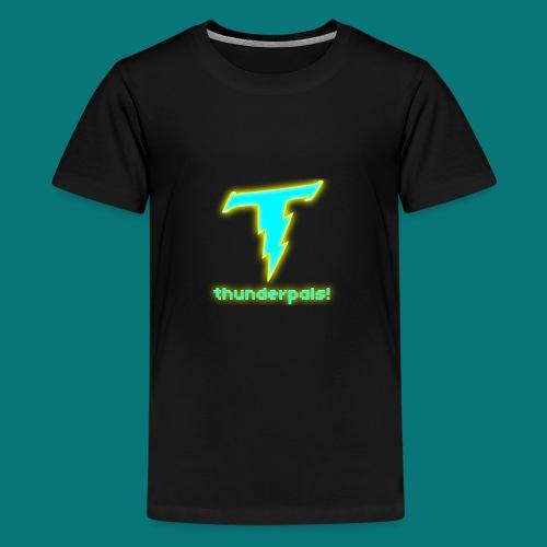 Thunder Pals Logo And Text - Kids' Premium T-Shirt