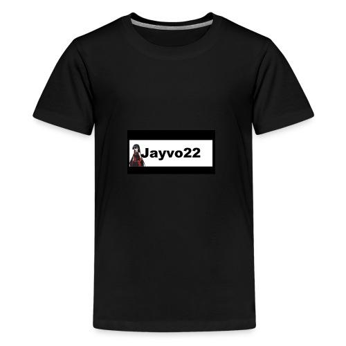 Jayvo22 logo - Kids' Premium T-Shirt