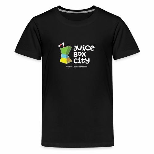 JUICE BOX CITYYY! - Kids' Premium T-Shirt