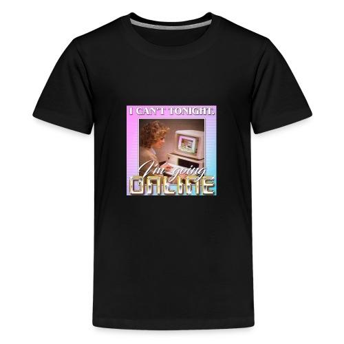im going online - Kids' Premium T-Shirt