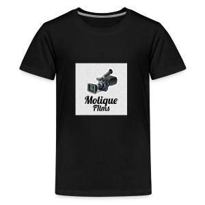 Molique Films Logo - Kids' Premium T-Shirt