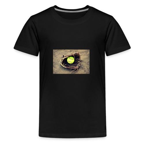 Softball hoddie - Kids' Premium T-Shirt