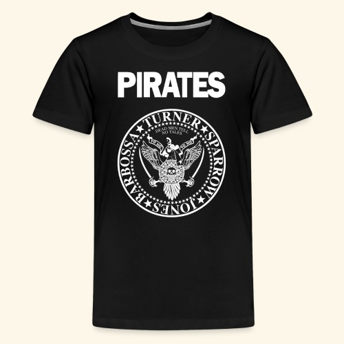 Punk Rock Pirates [heroes] - Kids' Premium T-Shirt