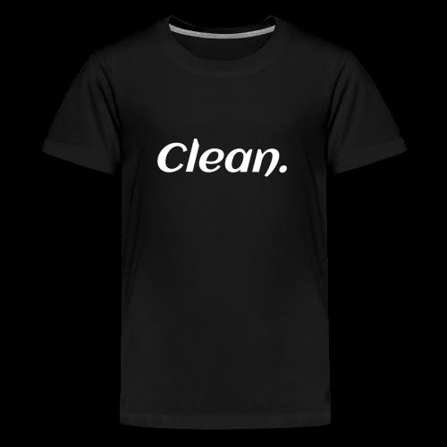 Clean T-shirt - Kids' Premium T-Shirt